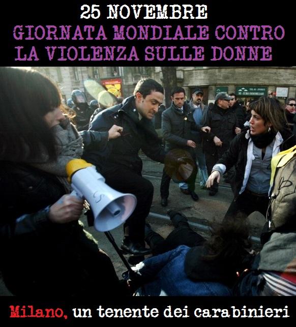 Giornata mondiale contro la violenza alle donne: pestaggio della polizia