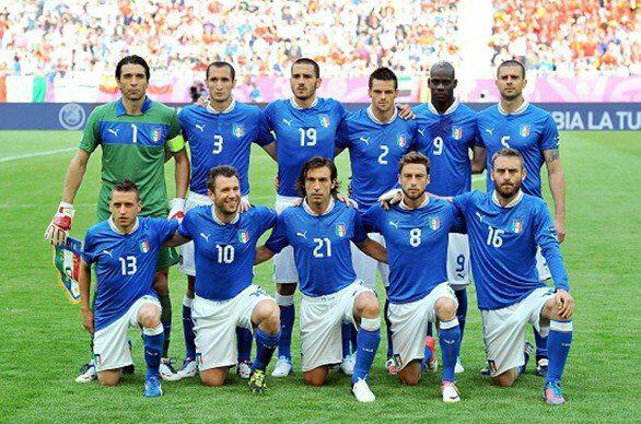 Euro 2012: Italia