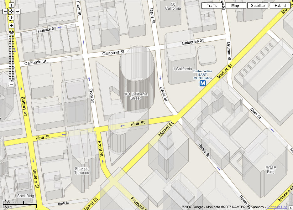 Google Maps: San Francisco 3D