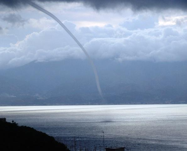 Tornado su Reggio Calabria