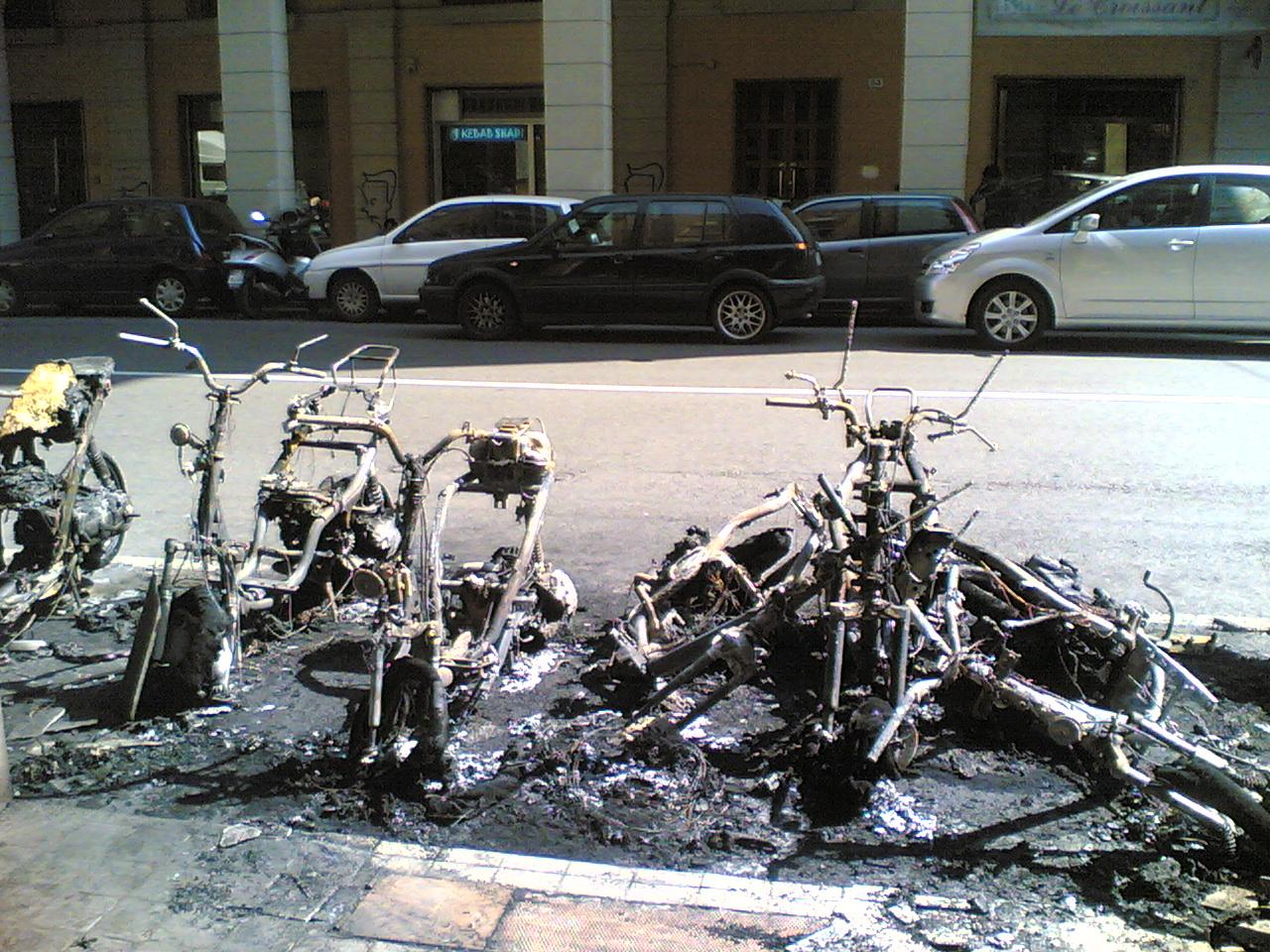 Motorini Bruciati