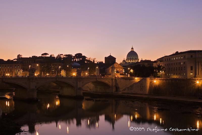 roma_notturna_ponte_stefano_costantino